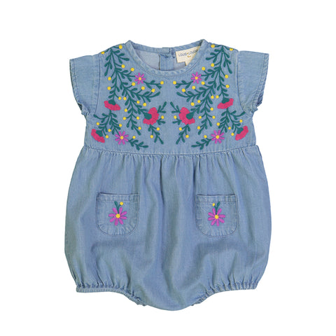 louis louise - OVERALL FRIDA - Chambray