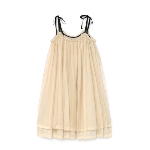 little creative factory - MUSLIN FAIRY SUNDRESS - Cream