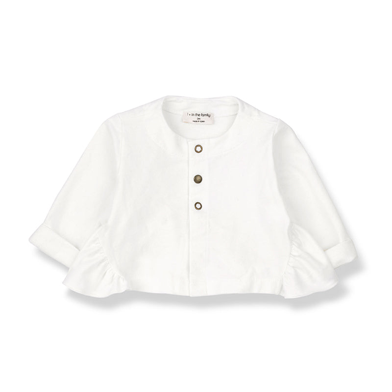 1+in the family - GINOSA GIRLY JACKET - Off White