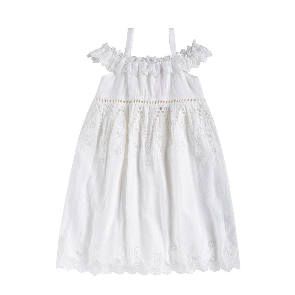 Louise Misha - DRESS THYLANA - Off-white