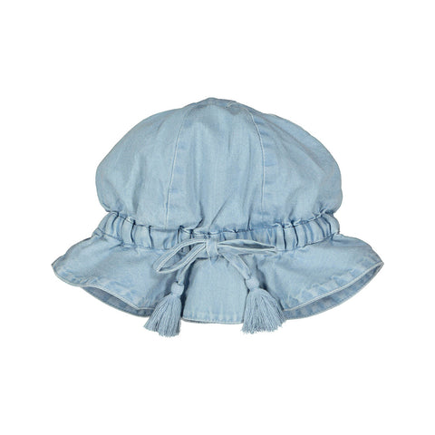 louis louise - HAT COLETTE CHAMBRAY - Blue