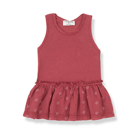 1+in the family - MATILDA DRESS - Red