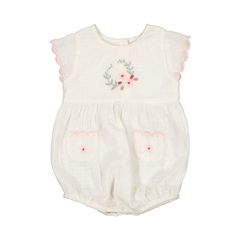 louis louise - OVERALL FILLA COTTON COUCHE - VANILLA