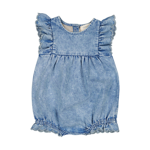 louis louise - OVERALL SOLINE - Chambray Washed