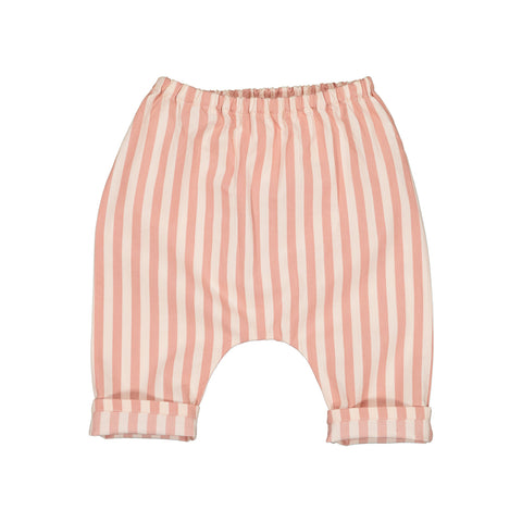 louis louise - TROUSERS JUNGLE STRIPES - Pink