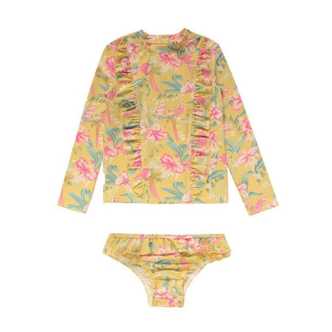 Louise Misha - UV PROTECTIVE SET - Soft Honey Parrots