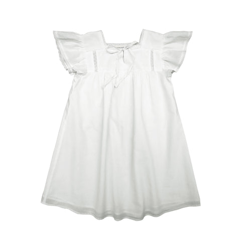 louis louise - DRESS ADELAIDE - White