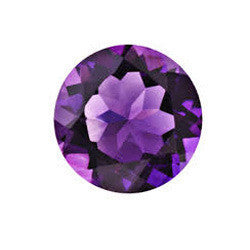 Amethyst Round Shape  4 mm - 12 mm