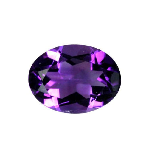 Amethyst Oval Shape: 6 x 4 mm - 16 x 13 mm