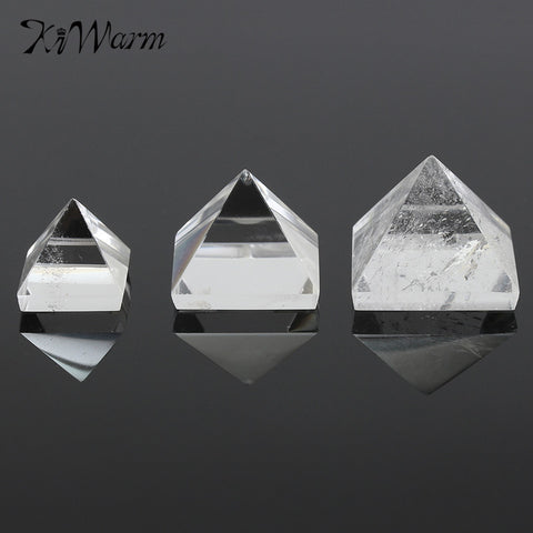 Clear Quartz  Pyramid x 3 Sizes  15/25/50mm