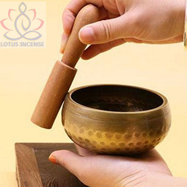 9.3cm  Singing Bowl Tibetan  Singing Bowl Himalayan Hand Hammered