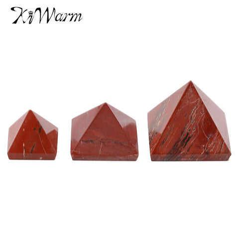 Red Jasper  Pyramid x 3 Sizes 15/20/25mm