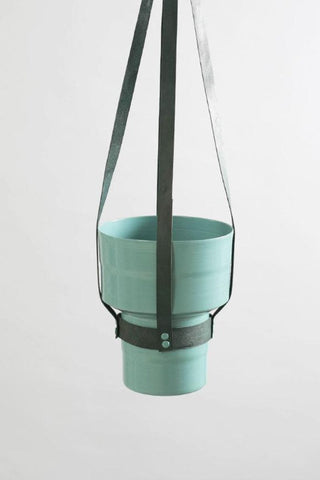 EST x BB Leather Hanging Planter