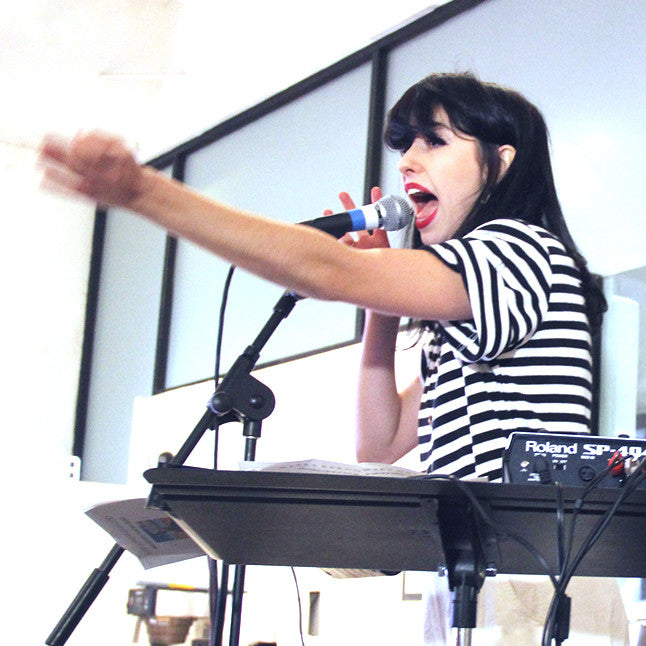 video: KIMBRA's Album launch and group show