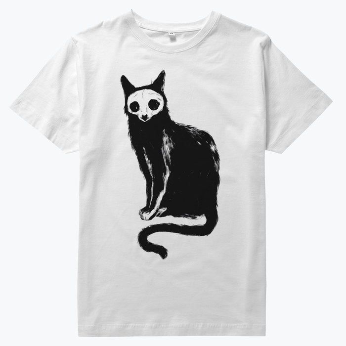Skelecat + pony t-shirts
