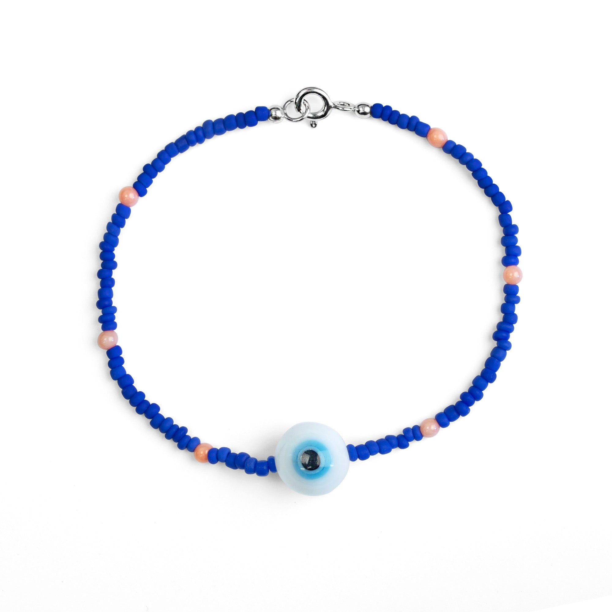 Clear Eyed beaded Bracelet