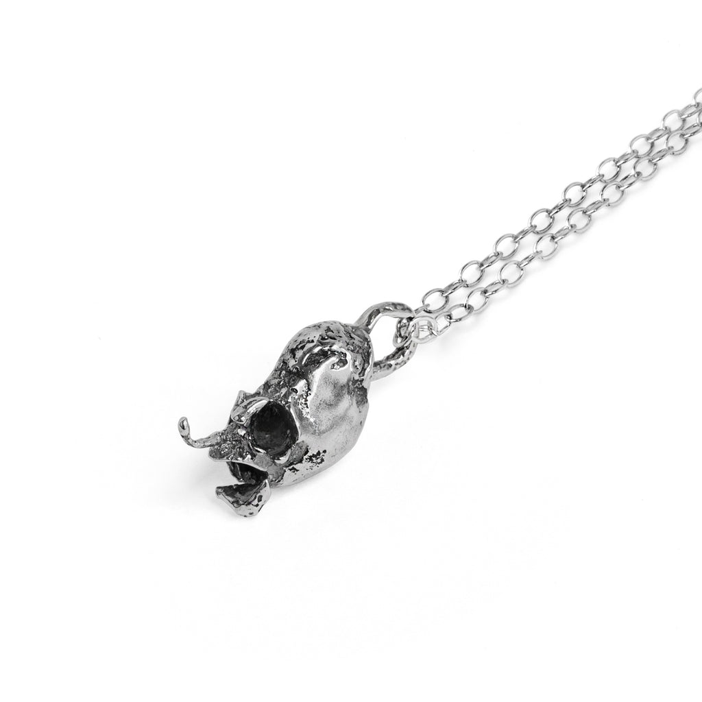 Little Sister Silver Necklace