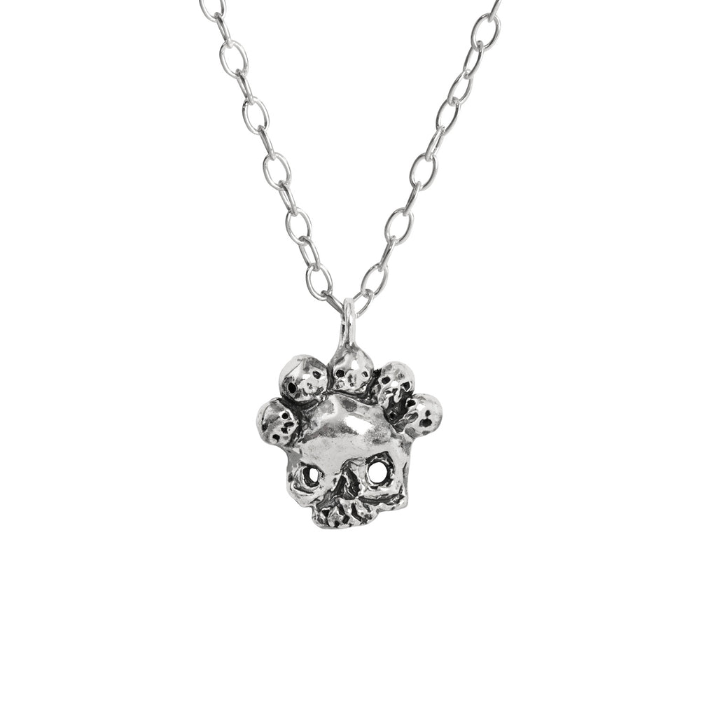 Nameless God Skull Mask Necklace