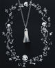 Ook Le Spook Silver Necklace detail photo