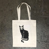 Skelecat Tote Bag