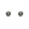 Skull Stud Silver Earrings