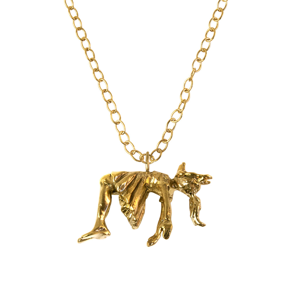 Something In The Water Gold Vermeil Necklace