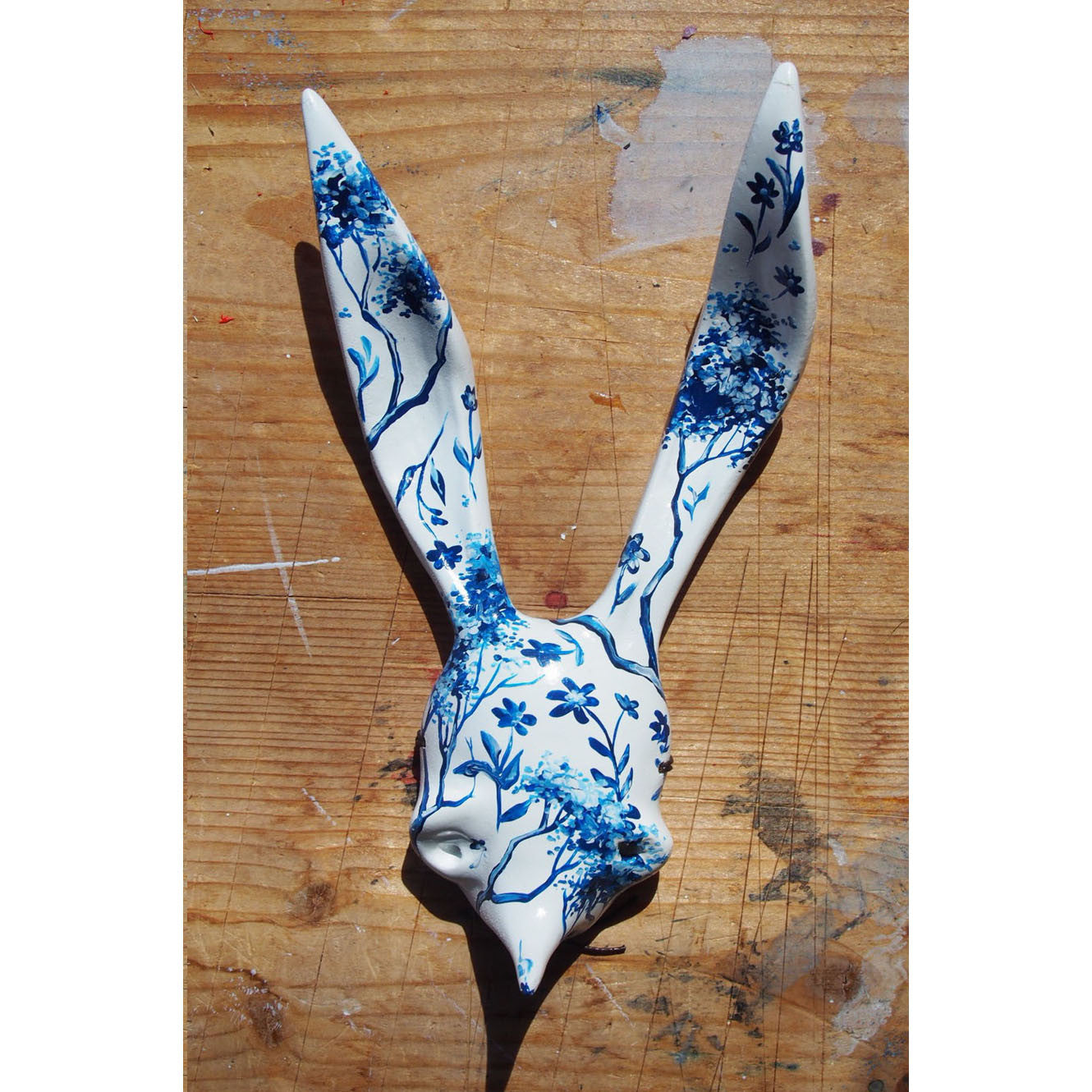 Sally rabbit 'tea' mask 01