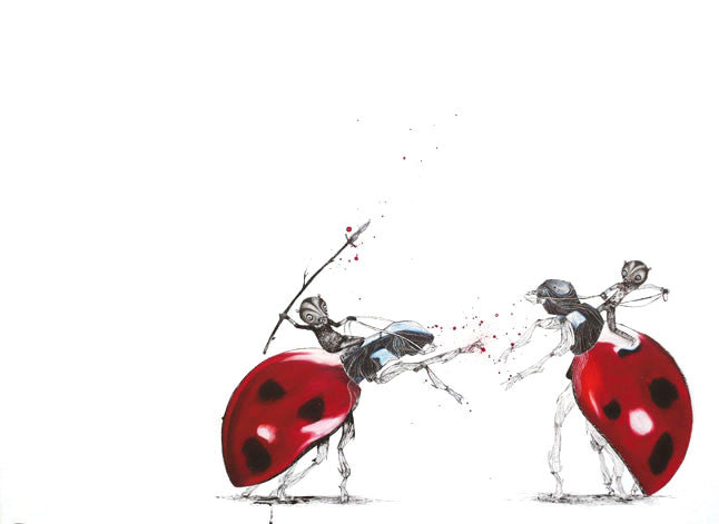 UNLICENSED LADYBIRD FIGHTING