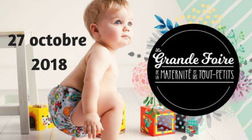 Momzelle at the Maternity and Toddler Fair in Montréal!