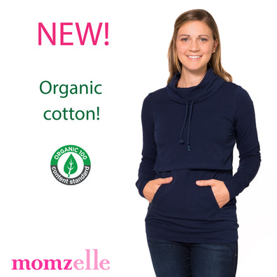 NEW! Organic Cotton Nursing Tops