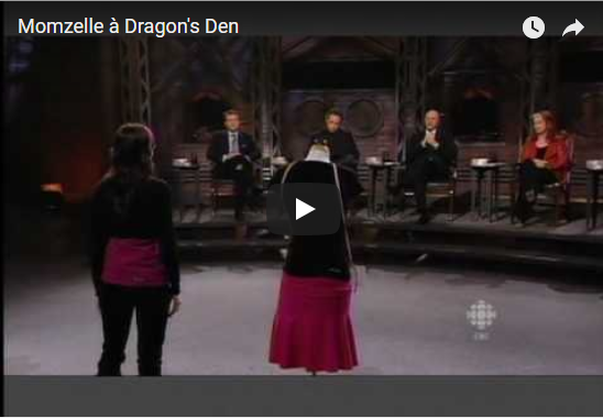 Update: Momzelle on Dragons' Den