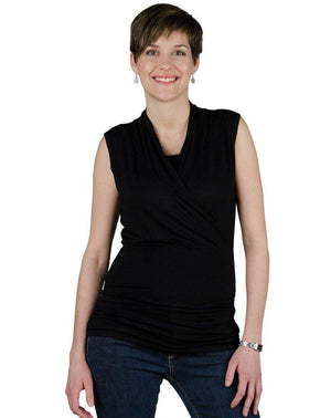 Nursing top Josiane in black