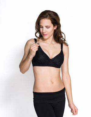 Lace nursing bra - FINAL SALE