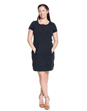 Nursing tunic MARIA - M left - FINAL SALE