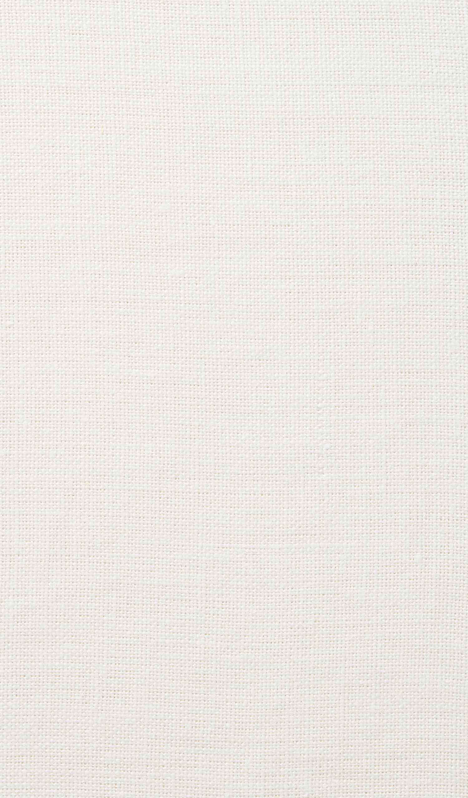 swatch of linen casual optic white