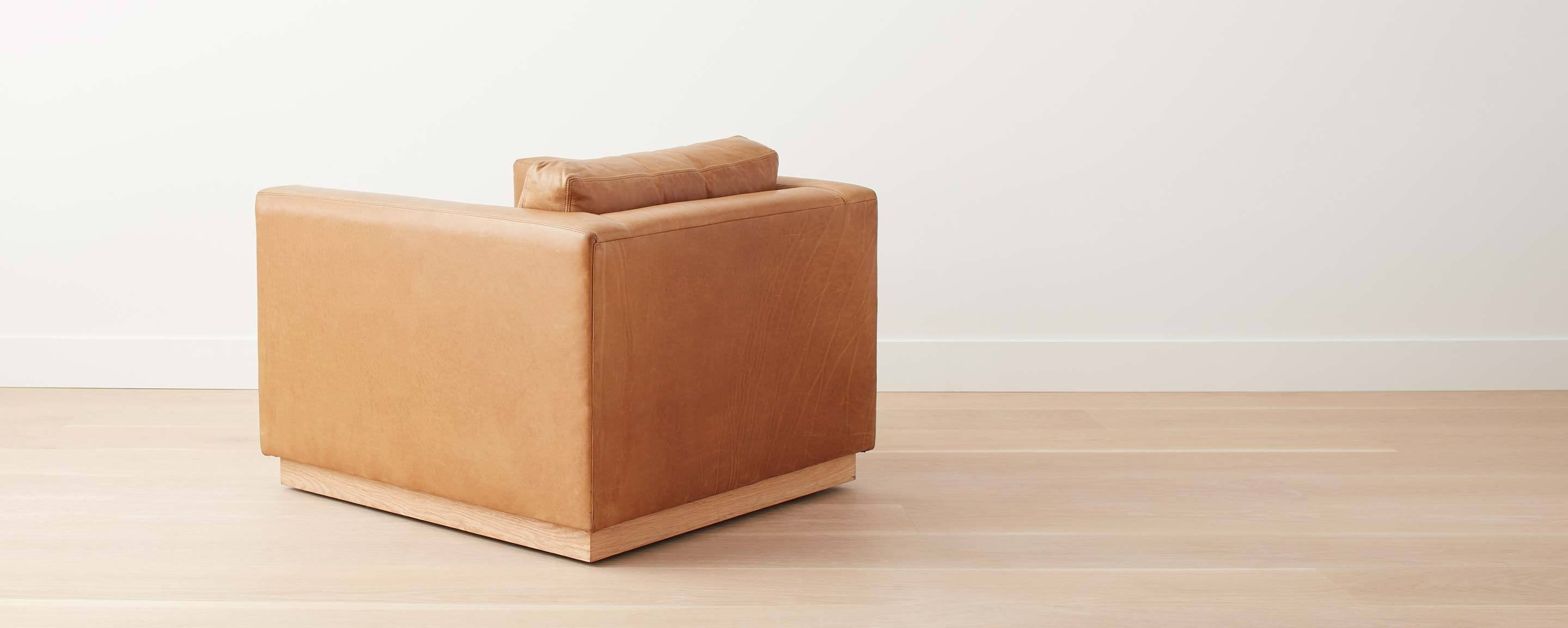 the homenature halsey swivel chair - floor model