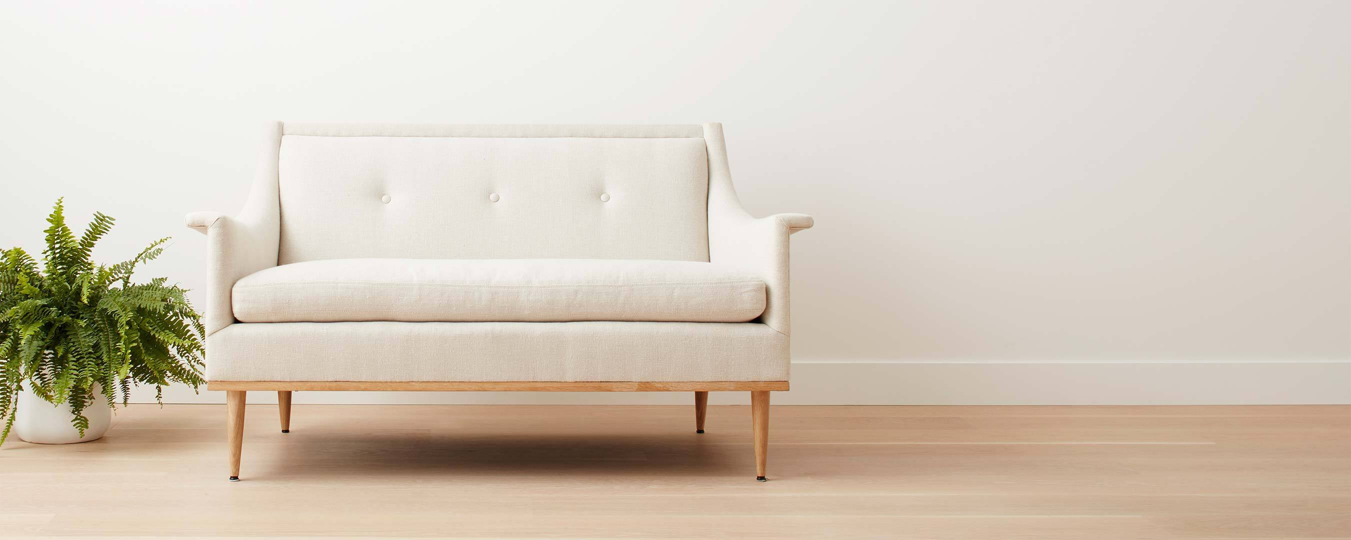 the lily pond loveseat