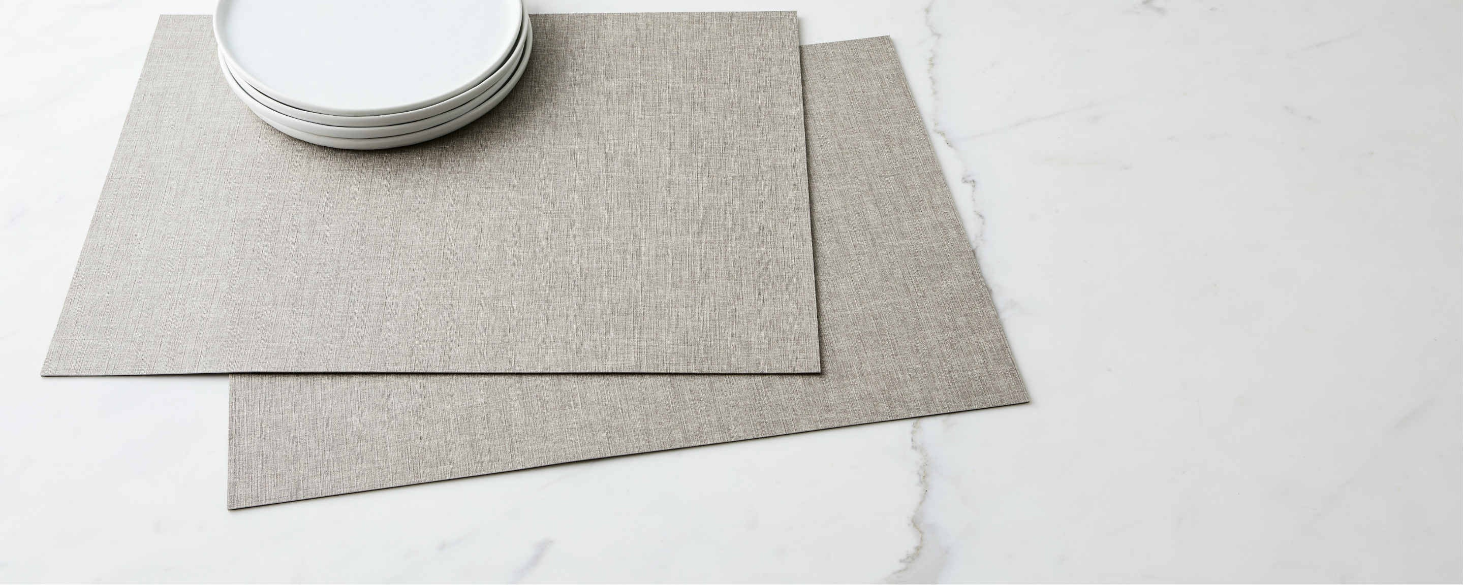 textured iron placemat