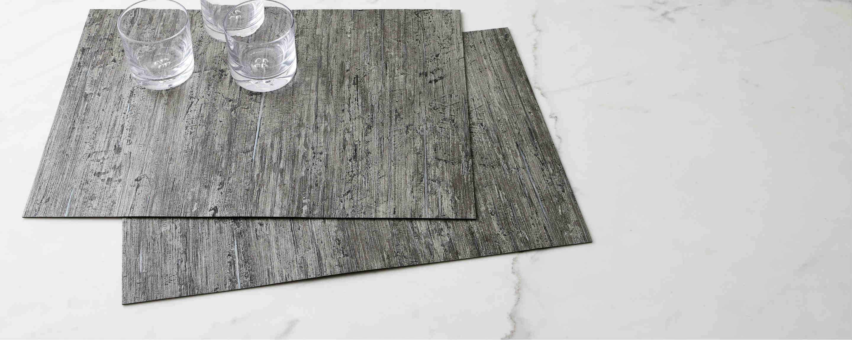 textured night placemat