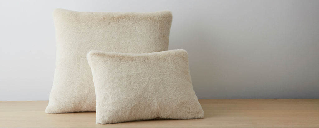 bewitched creme pillows