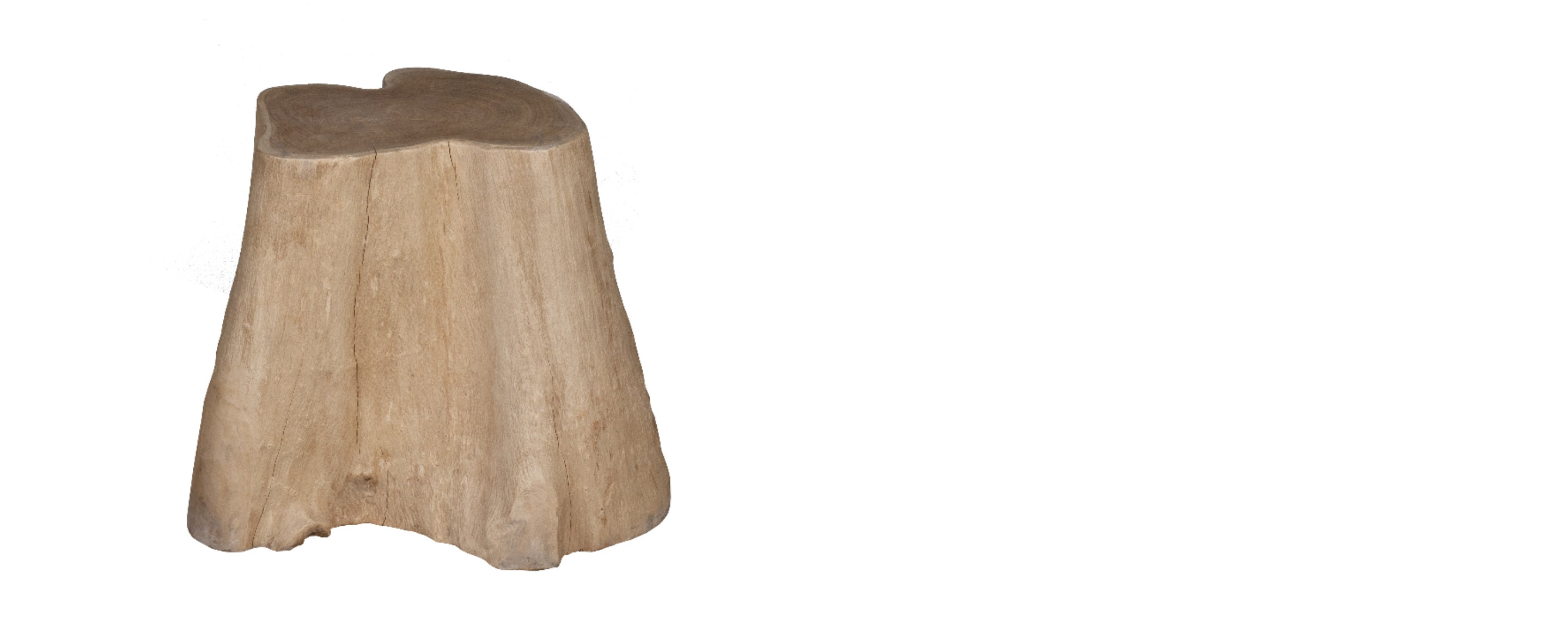 live edge root end table/stool