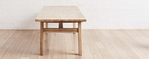 recycled poplar wood dining tables