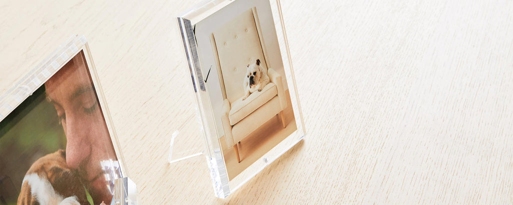 the beveled lucite picture frame, 4x6 from homenature stores