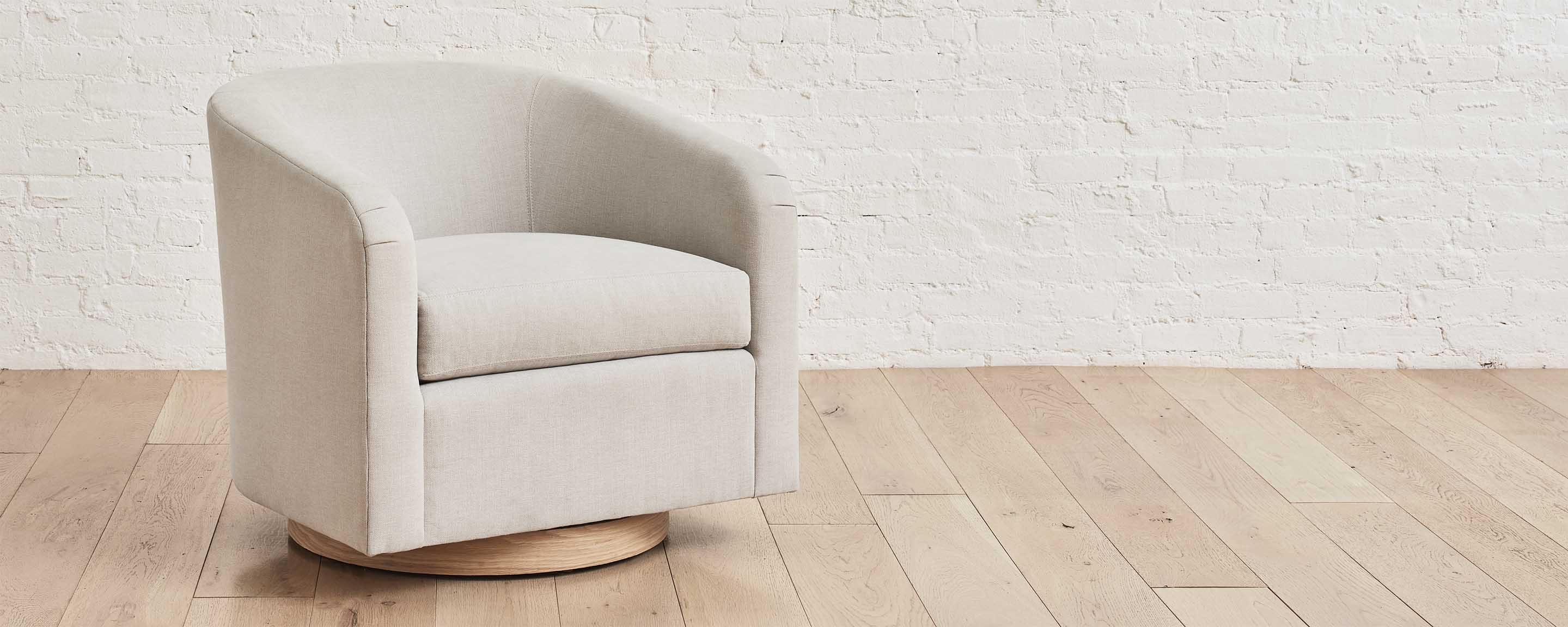 the homenature cooper swivel chair