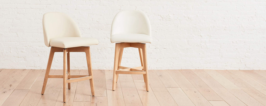 the ventura swivel counter stool