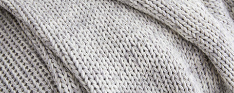 chunky cotton light grey collection