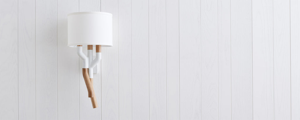 berkeley white sconce