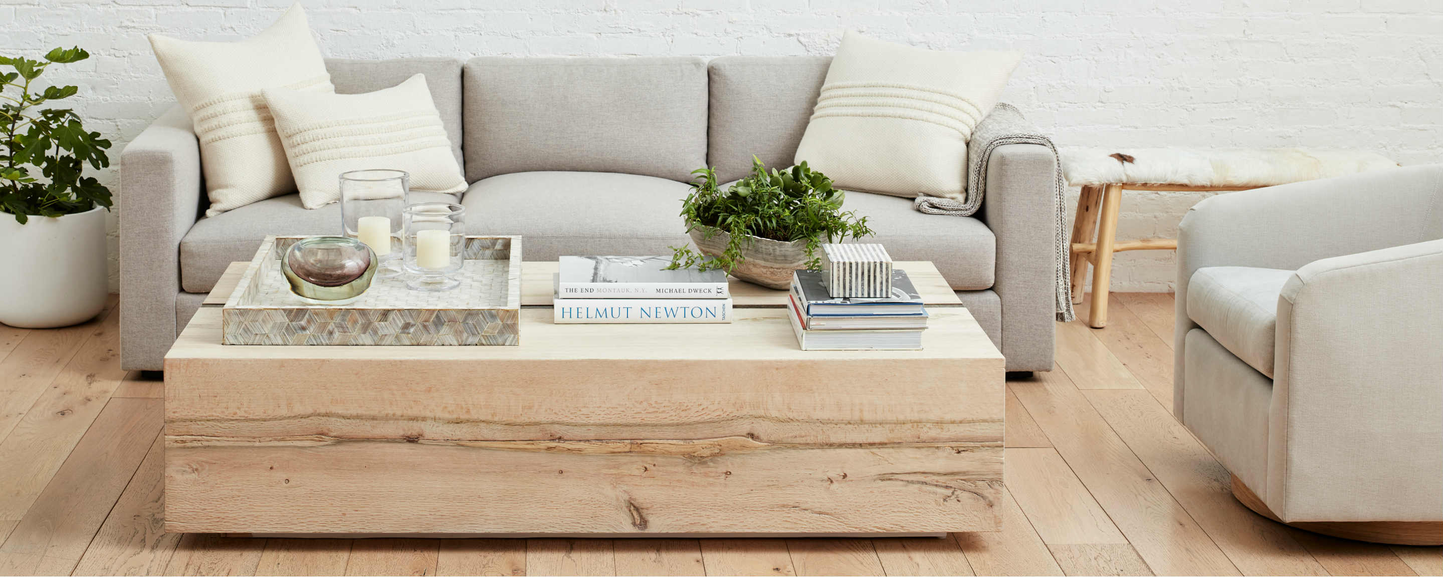 the sonoma coffee table