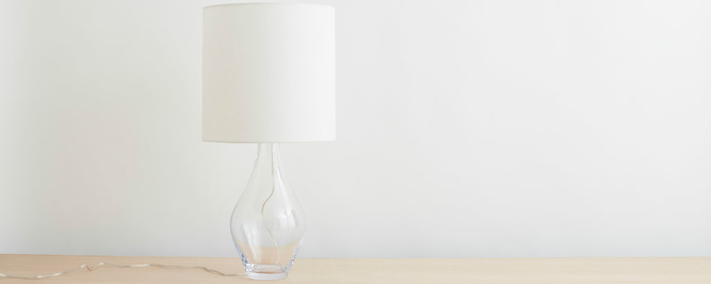 warren table lamp by simon pearce