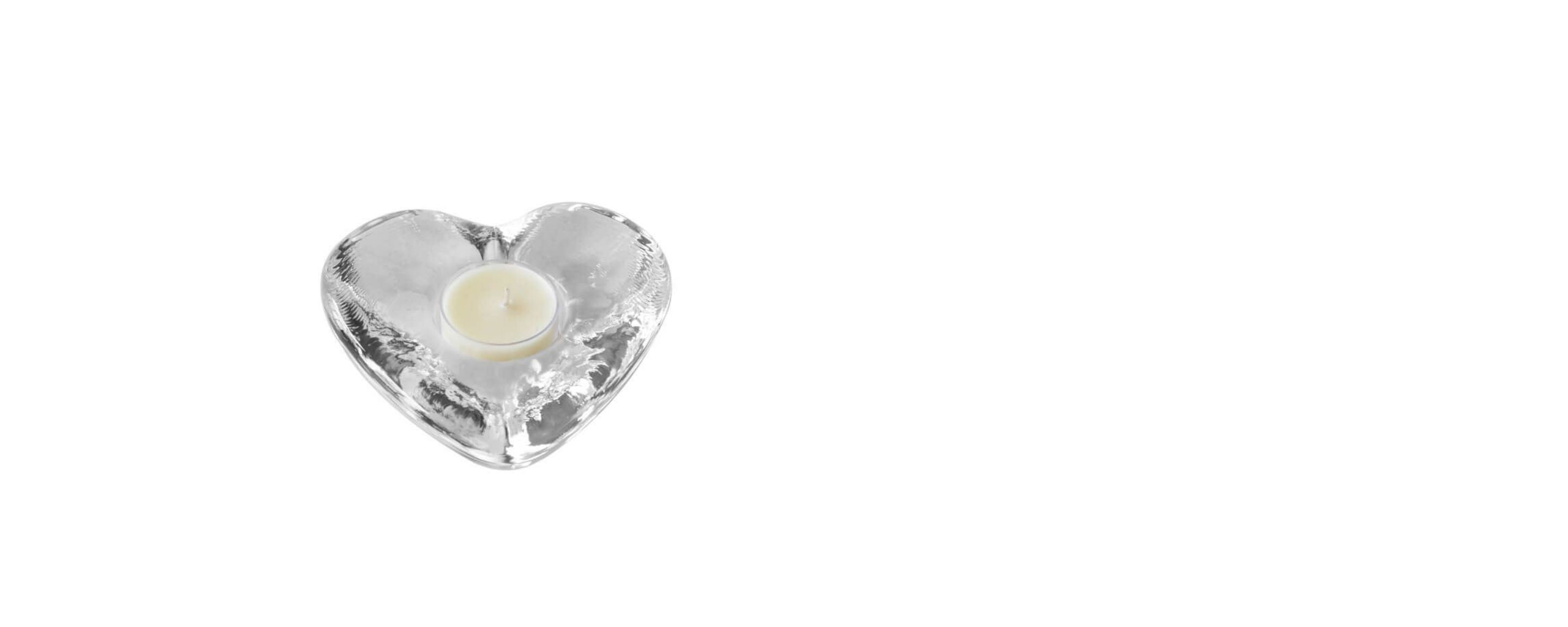 highgate heart tealight